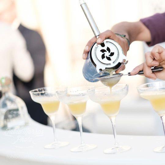 Selezione di cocktails