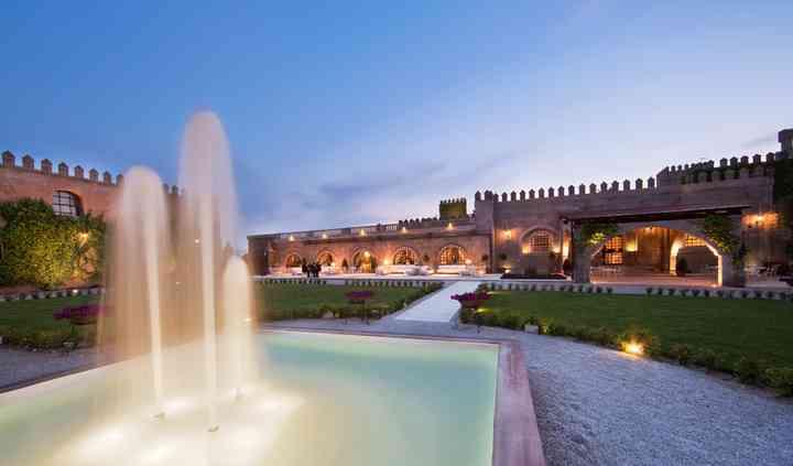 Castello Monaci: Giardino Interno