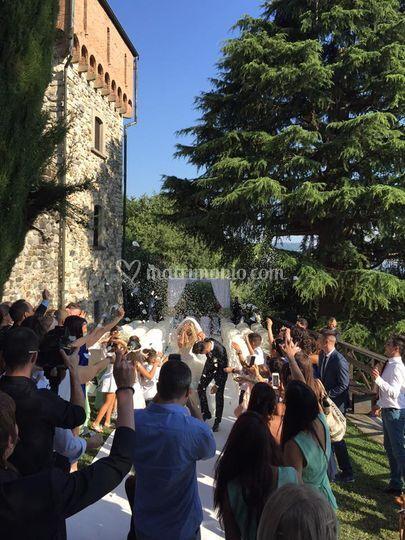 Cerimonia al castello