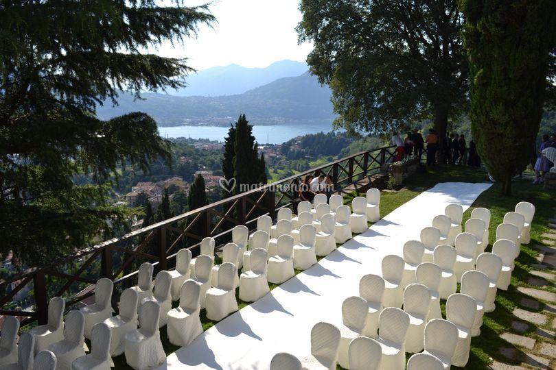Cerimonia terrazza panoramica