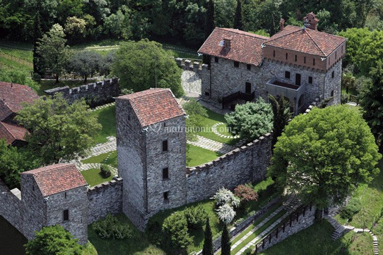 Castello di rossino veduta di Castello di Rossino