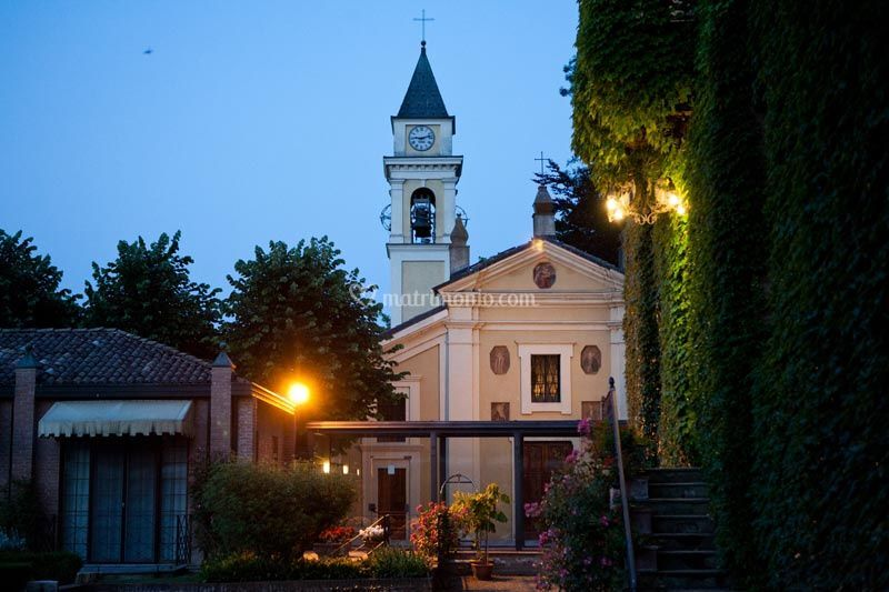 Chiesa vista del Parco Italiano