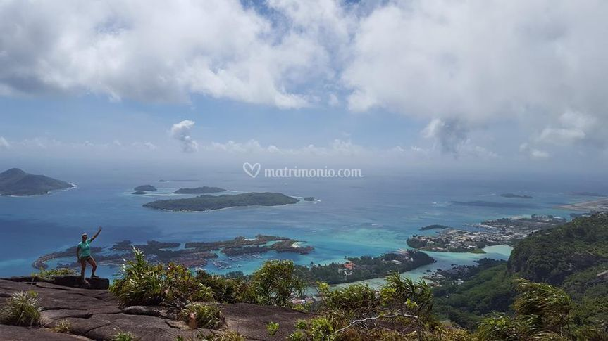 Panorama delle Seychelles