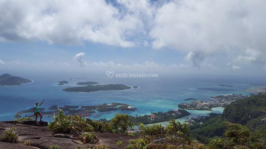 Panorama delle Seychelles