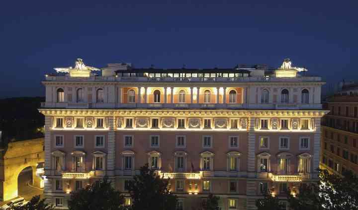 Rome Marriott Grand Hotel Flor