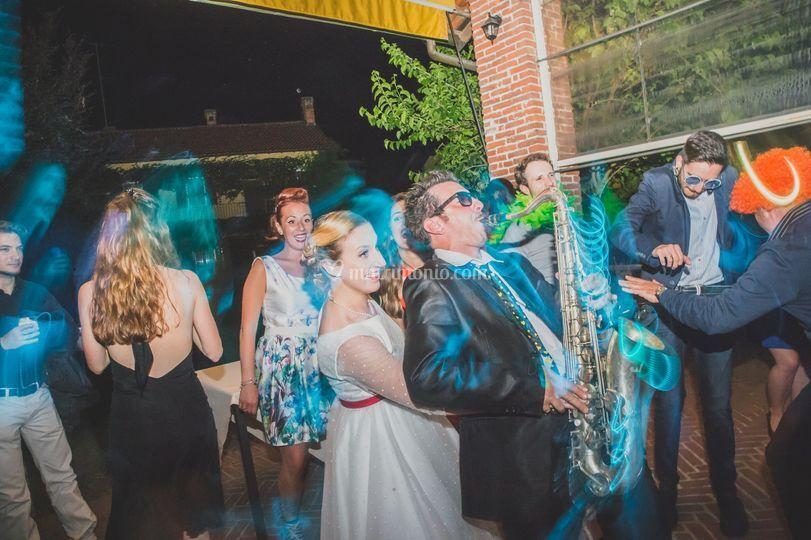 Spettacolo con la sposa