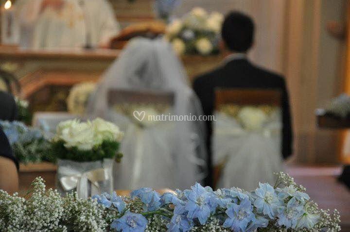 Matrimonio Bianco E Azzurro : Camilla fiori