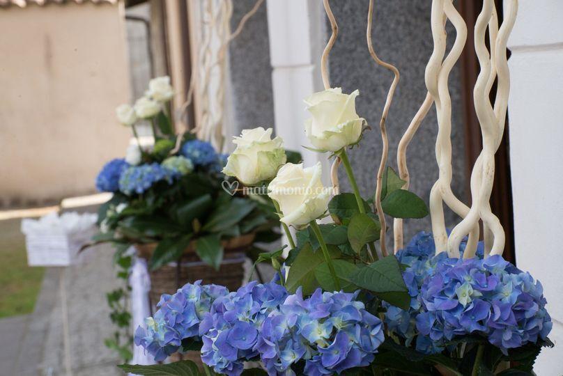 Matrimonio Azzurro E Bianco : Azzurro e bianco di idee infiore foto