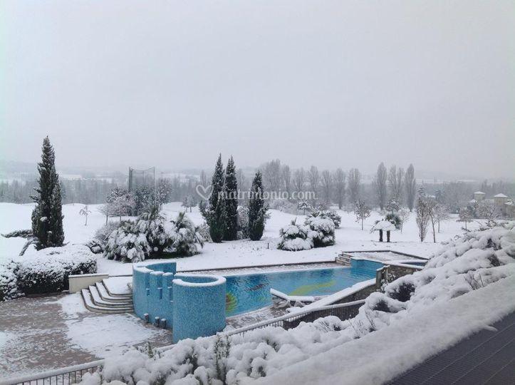 Con la neve