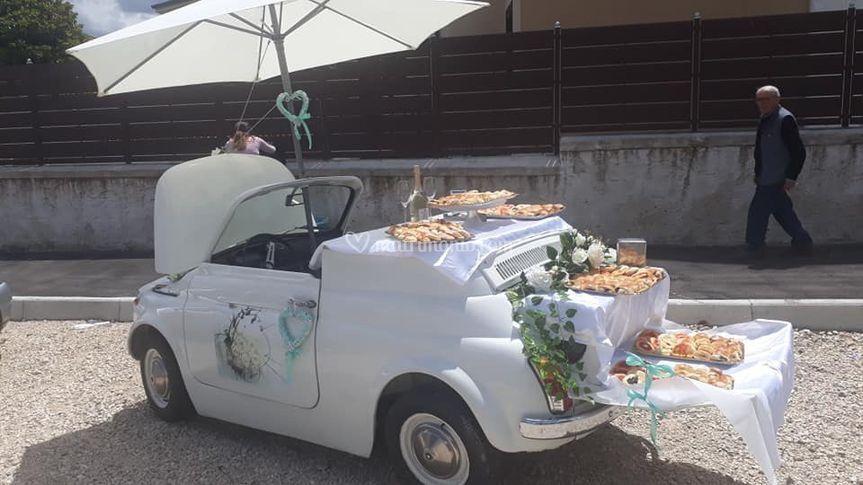 Fiat 500 Buffet