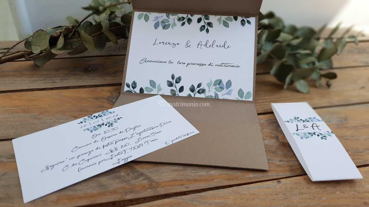 Partecipazioni Promessa Di Matrimonio.Invito Promessa Di Matrimonio Di Jf Event Designer Foto 36