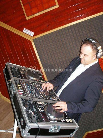 Mix in studio