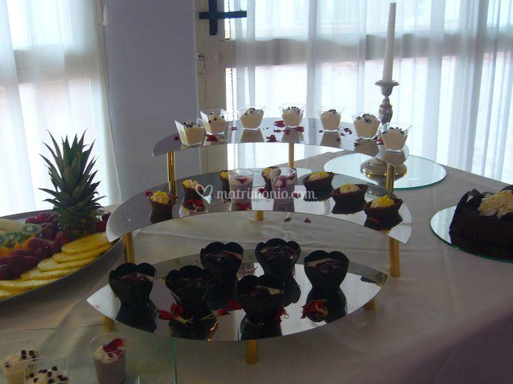 Buffet dolci e frutta