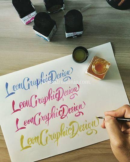 Scritte hand made