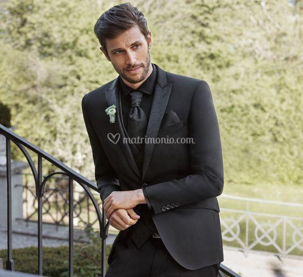 Vestito Matrimonio Uomo Nero : Abiti cerimonia uomo digel di collection abbigliamento uomo foto 7
