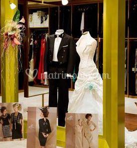 Camicia in seta e papillon di Atelier Walter Antonucci Couture