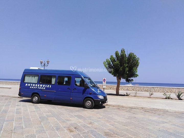 Minibus trasporto invitati