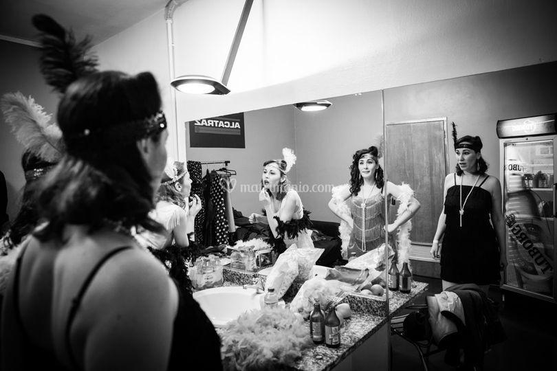 Alcatraz (MI) - Backstage
