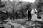 Gli sposi in terrazza