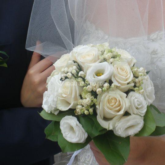 Bouquet con lisiantus