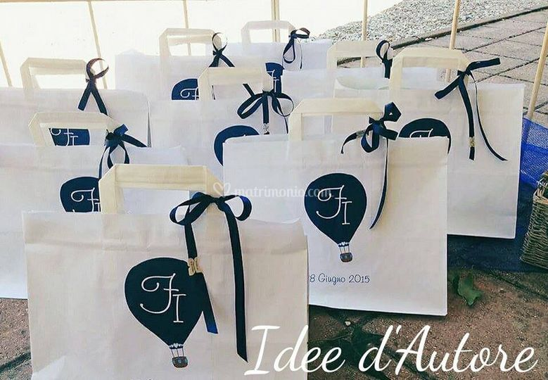 Wedding bag personalizzate