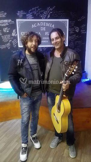 Con Pepe Del Morao, Jerez