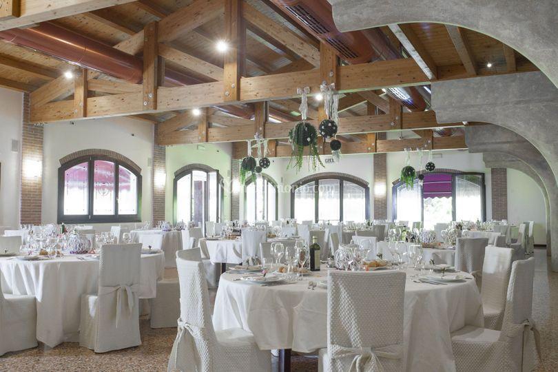 Sala veneziana per matrimonio