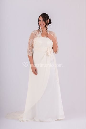 Curvy sposa