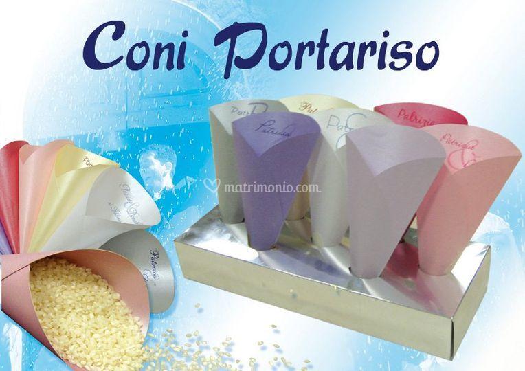 Coni porta riso o petali - con possibilità di personalizzazione