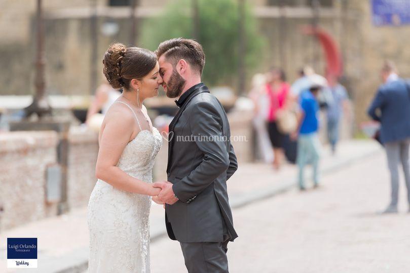 L'inizio di un bacio