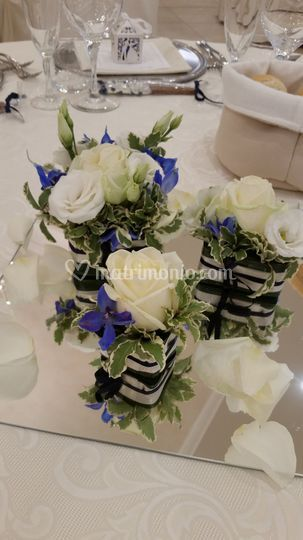 Centro Tavola con Sushi Flower