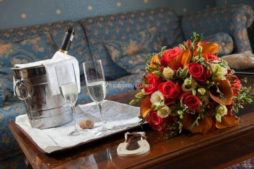 Dettaglio suite sposi