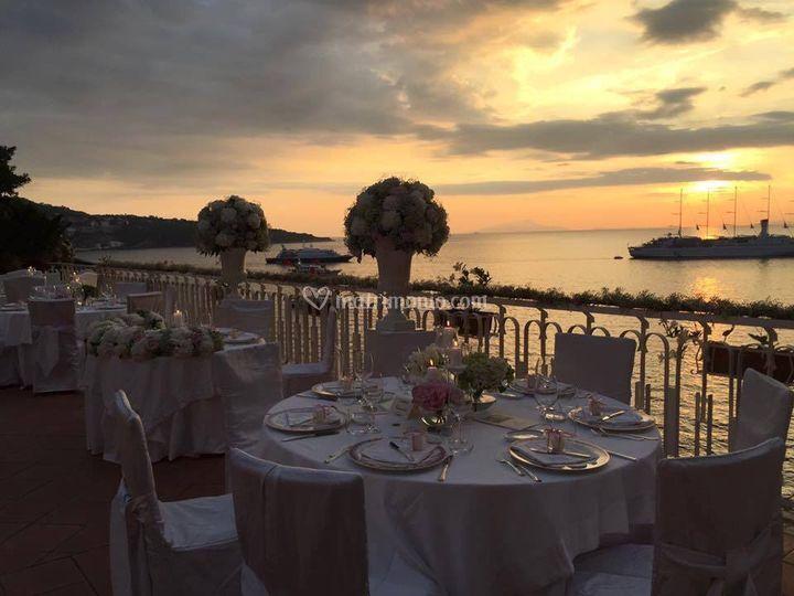 Cena in Terrazza... di Hotel Corallo | Foto