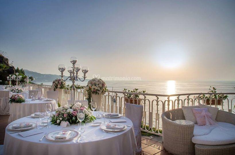 Cena Romantica in Terrazza