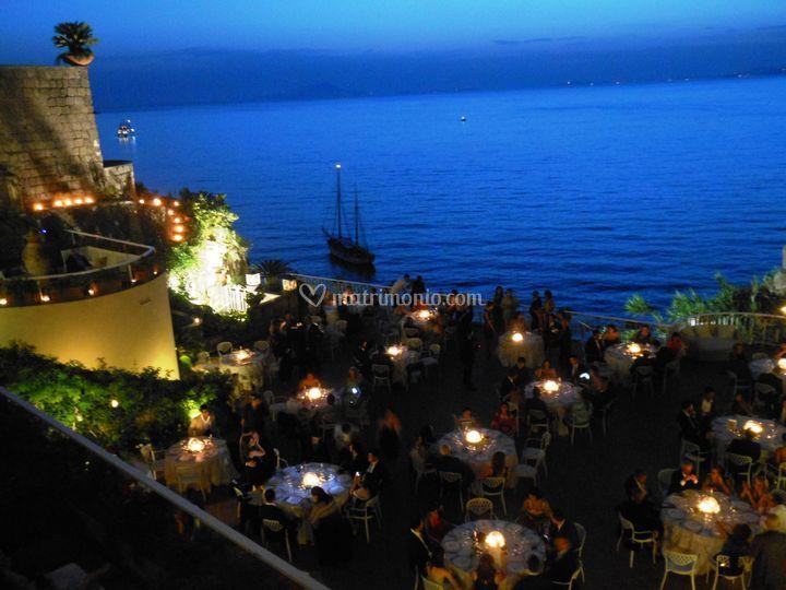 Cena in Terrazza sul Golfo di Hotel Corallo | Foto 4