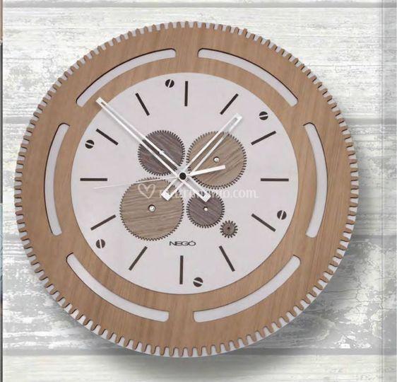 Orologi parete legno