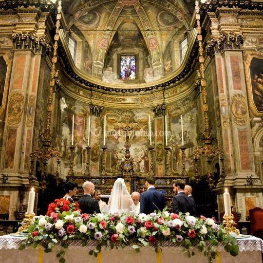 Cerimonia chiesa