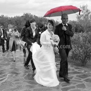 Sposa bagnata
