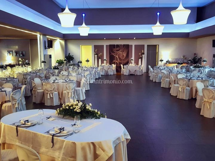 Cena di nozze (tema blu)