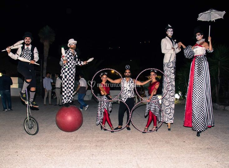 A Painted circus