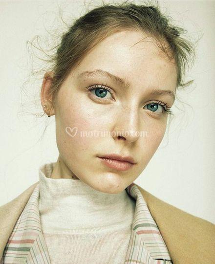 Natural Makeup for Vogue.it