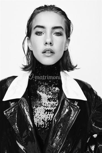 Fashion makeup for Vogue