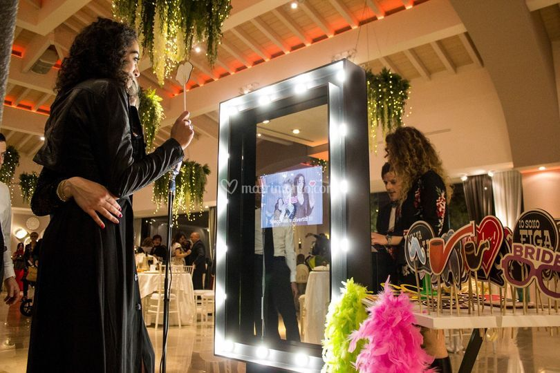 Mirror Glam Nero