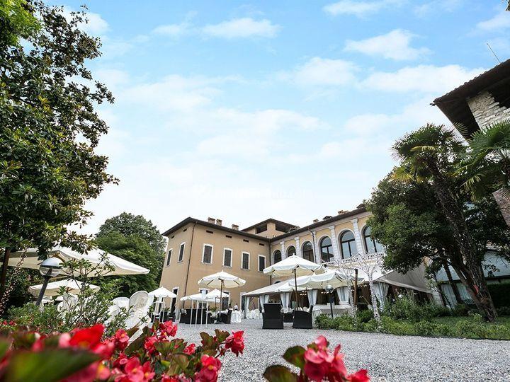 Villa Suardi - la corte