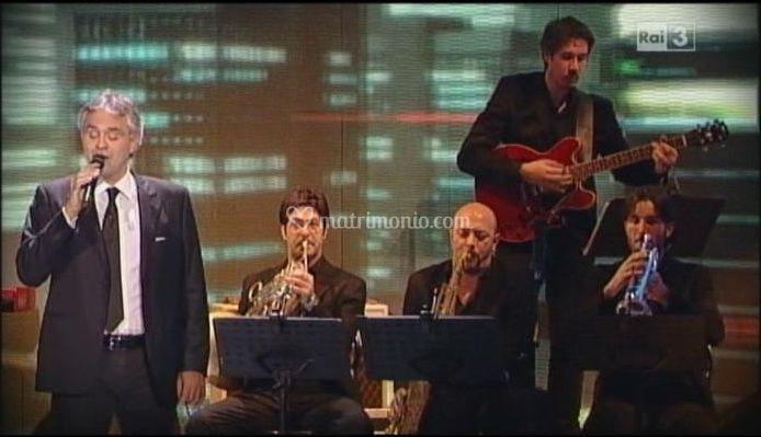 Simone con Andrea Bocelli