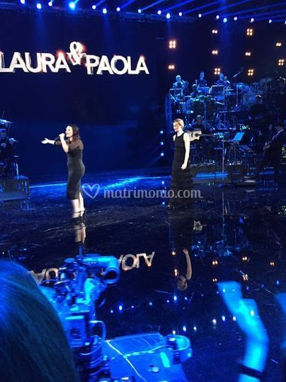 """Backstage show """"Laura&Paola"""""""