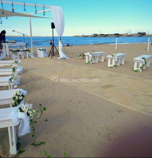 Matrimonio Spiaggia Rito Civile : Luce degli eventi