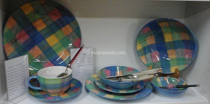 Servizio piatti Tiffany