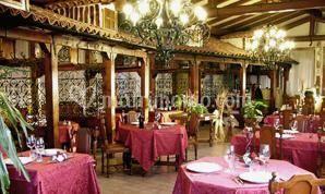 Sala ristorante Tetto Brianzolo