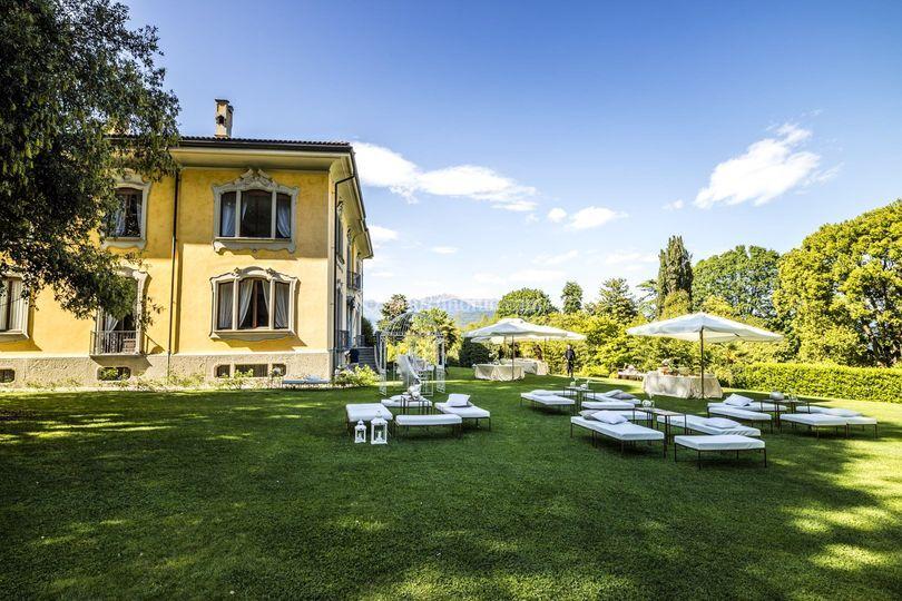 Giardino Di Villa Frua Foto 15